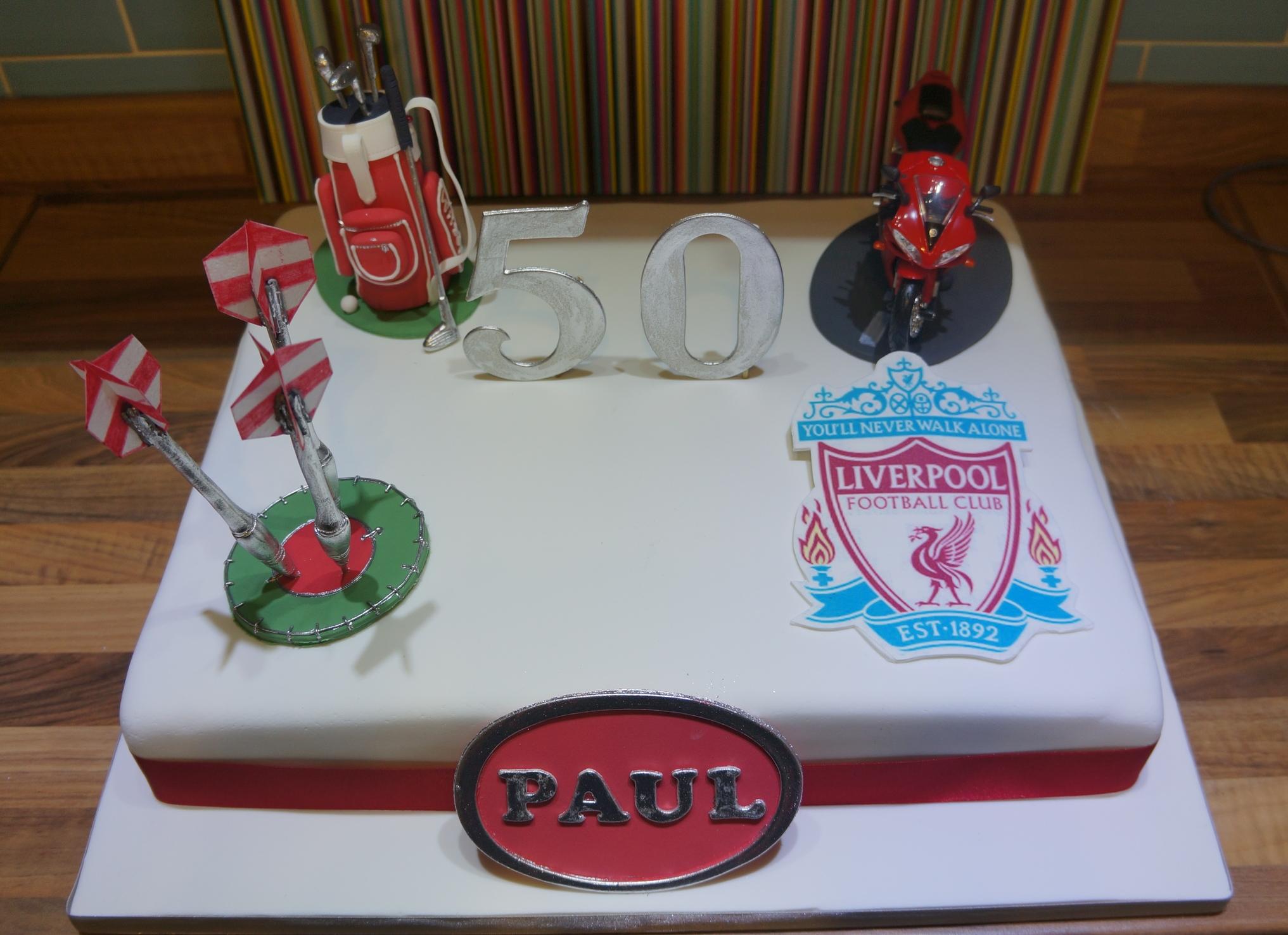 50th Birthday Cake Coppice Cakes Amp Sugarcraft